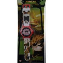Reloj Digital De Kung Fu Panda 3 Con Proyector De 10 Imágene