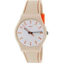 Reloj Swatch Beige Femenino