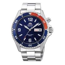 Reloj Automático Orient Mako Pepsi Cem65006d