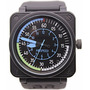 Parnis 100% Automatico Bell&ross Air Speed Bell Ross Br01