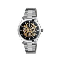 Reloj Mecánico Esqueleto Automático Elegante Formal Hombre