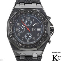 Reloj Techno Com, Crono, 24 Diamantes Acero Inoxidable 1 Sp0