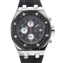Reloj Techno Com, Crono, 24 Diamantes Acero Inoxidable 2 Sp0