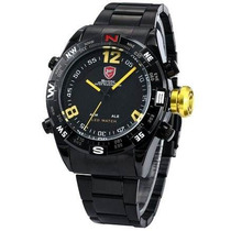Reloj Shark Sh099 Negro Masculino