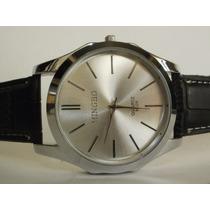 Reloj De Hombre Marca Mingbo 100% Original Piel, Hm4