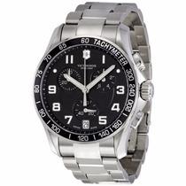 Reloj Victorinox Classic Cronógrafo Negro 241494