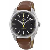 Reloj Omega Seamaster Automático Piel Café 23112422101101