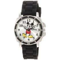 Mk1080 Mickey Mouse Del Reloj De Disney Para Niños Con Goma