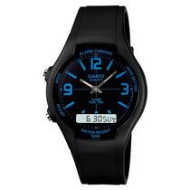 Reloj Casio Aw90 Alarma Segunda Zona Horaria Cronometro