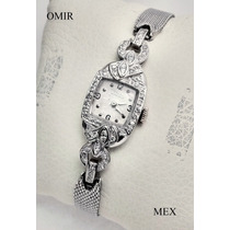 Reloj Girard Perregaux Oro 14k Con Diamantes Vintage Dama