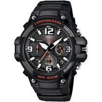 Reloj Casio Mcw100 Cronometro Fechador Pantalla Neon