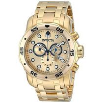 Reloj Para Caballero Invicta 0074 Pro Diver Cronógrafo