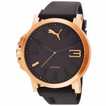 Reloj Puma Negro Con Bronze Pu102941005