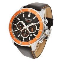 Reloj J Springs Bfc005 Analogo Crono Fechador Wr100m