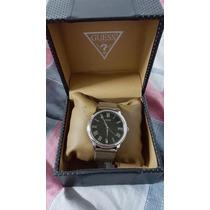 Reloj Análogo Guess Elegance W0406g1 Plata Hombre