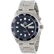 Reloj Orient Em65009d Plateado Masculino