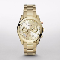 Reloj Fossil Perfect Boyfriend Gold-tone Stainless Es3884