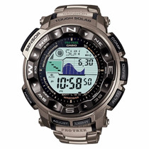 Reloj Casio Protrek Prw2500 Titanio - Altímetro - Cfmx