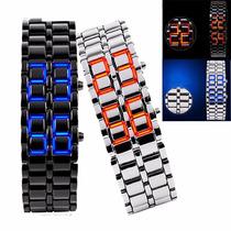 Reloj Led Sport Digital Tipo Samurai Japones Lava Deportivo