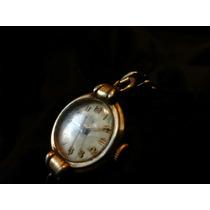 Antiguo Reloj Steelco De 19 Joyas Suizo