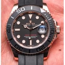 Soberbio Reloj Rolex Yachtmaster Ii 40 Jumbo