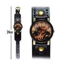 Reloj De Mano Tokyo Ghoul Correa Gruesa Negro