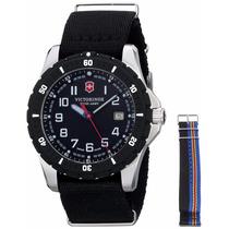 Reloj Victorinox Análogo Dos Correas A. Inoxidable 241674.1