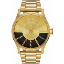 Star Wars Reloj Nixon C-3po Especial Reloj Envio Gratis!