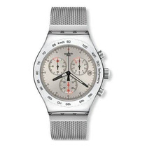 Reloj Swatch Irony Yag100g Dorado