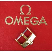 Omega Hebilla Gold Plated, 100% Original 16mm Como Nueva Wow