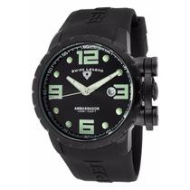 Reloj Swiss Legend Ambassador Negro 30021-pht-sh-wd