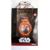 Reloj Nuevo Original Disney Star Wars Bb8! Coleccionable