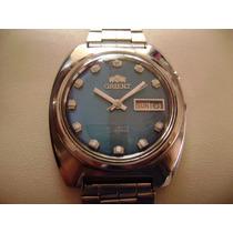 Reloj Orient Azul Vintage. Colección Años 70´s.