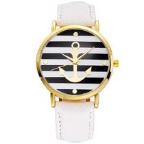 Reloj De Moda Con Figura De Ancla