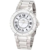 Reloj A_line 20013 Marina Plateado Femenino