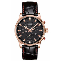 Reloj Mido Multifort Cronógrafo Piel Negra M0054173605120