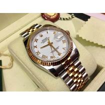 Rolex Datejust 116233 Acero Oro 18k Estuche Inmaculado Bello