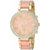 Reloj Dorado Rosa Joyas U.s. Polo Assn.® Usc40063 :)