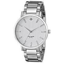 Reloj Kate Spade New York Modelo 1yru0095 Plateado Femenino