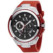Reloj Armani Exchange Ax1040 Rojo