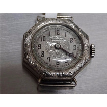 Reloj Eterna Octagón De Oro 18k Para Dama