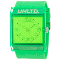 Reloj Marc Ecko Unlimited E08513g8 The Zero G Classic Neon