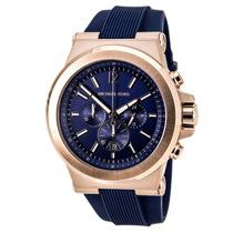 Reloj Michel Kors Caballero Mk 8295 Azul Envío Gratis