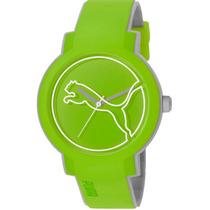 Puma Lifestyle Swing-green Correa Integrada 44mm!! Diego Vez