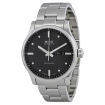 Reloj Mido Multifort Automático Acero Gris M0054301106100