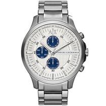 Reloj Ax2136 Metal Plateado 100% Original **envio Gratis**