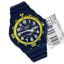 Reloj Casio Mrw-200hc Analogo Día Y Fecha Wr100m