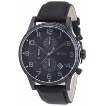 Reloj Hugo Boss Classic Cronógrafo Piel Negra 1512567