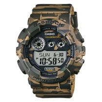 Reloj Casio G-shock Gd120 Edicion Militar