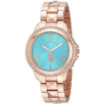 Reloj Mujer Us Polo Assn 40079 100% Original Envio Gratis
